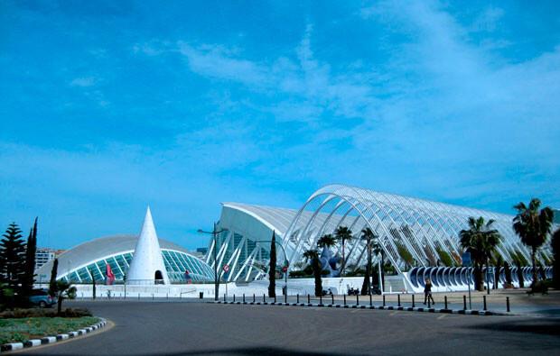 El Museo de las Ciencias, en la Ciudad de las Artes y las Ciencias de Valencia
