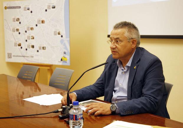 Miquel Domínguez presenta la nueva web de la Policía Local de Valencia. Foto: Ayto. Valencia