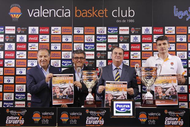 Solá, Grau, Raga y Perasovic presentan el XX Trofeu Ciutat de Valencia