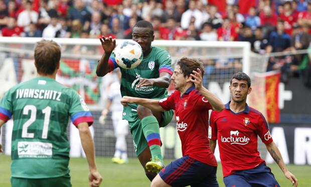 Simao, otro de los destacados del equipo granota. Foto: Jorge Ramírez / Levante UD