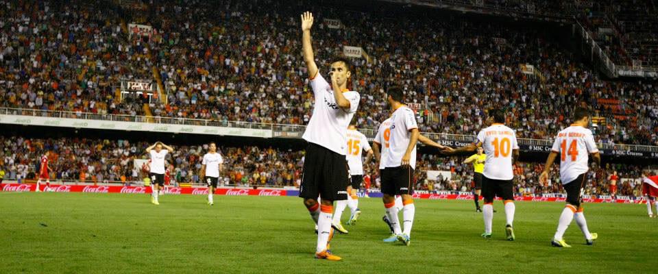 El Valencia CF venció y convenció en Mestalla. Valencia CF
