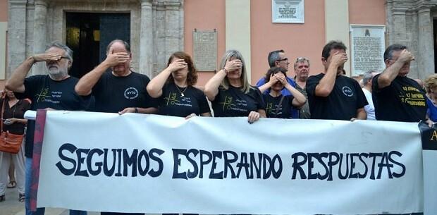 Asociacion Victimas del Metro. 3 de octubre de 2013