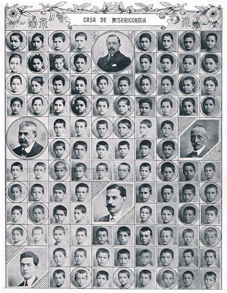 Colegio Casa de la Misericordia. 1911. A. P. R. S.
