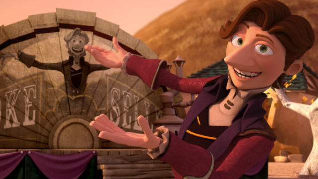 'El vendedor de humo', ganadora del Goya al mejor cortometraje de Animación