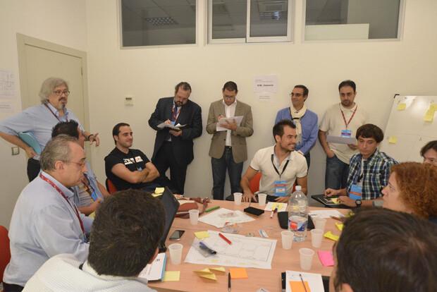 Los mentores asesoran al proyecto Blogs and Webs
