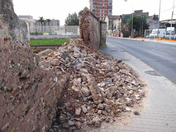 Mur Sant Miquel dels Reis 1
