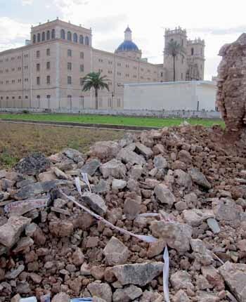 Mur Sant Miquel dels Reis 2