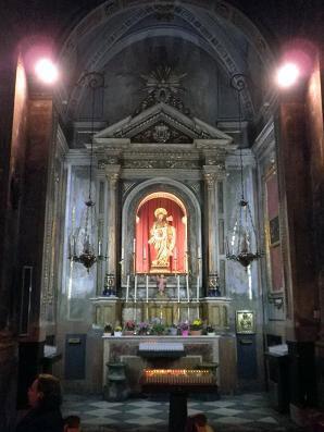 Capilla de San Judas Tadeo en la parroquia de San Pedro Mártir y San Nicolás Obispo. Foto: Parroquia de S. Pedro Martír y S. Nicolás Obispo