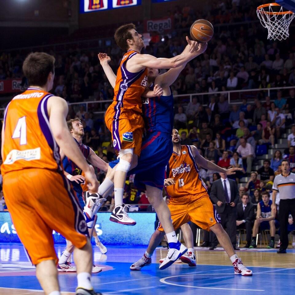 Valencia Basket Club. Claver. FC Barcelona
