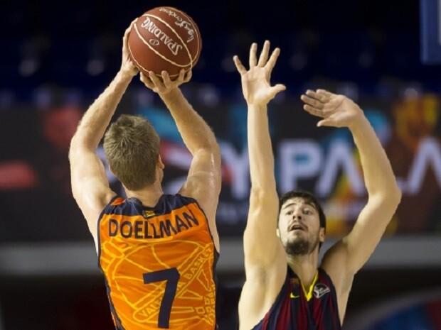 Valencia Basket. Doellman. FC Barcelona