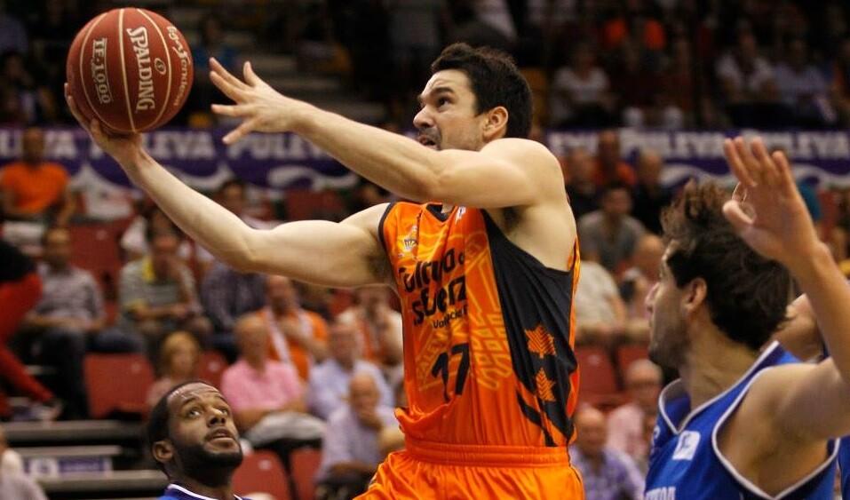Valencia Basket. Gipuzkoa Basket