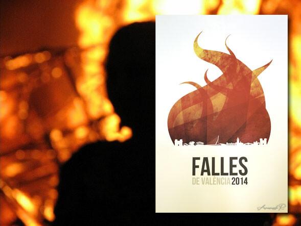 cartel-anunciador-fallas-2014