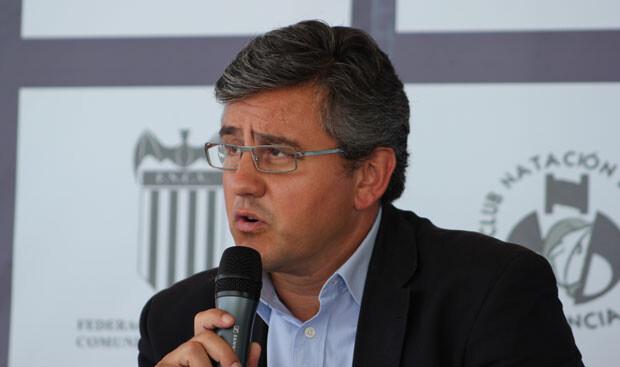 El concejal de Deportes y Juventud del Ayuntamiento de Valencia, Cristóbal Grau