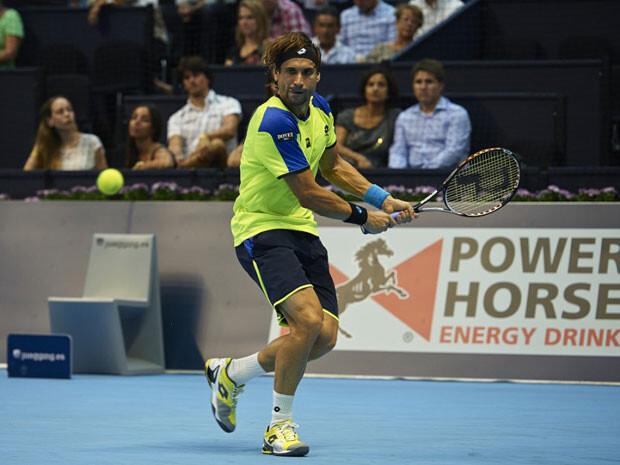 David Ferrer está pasando por el Valencia Open 500 como una apisonadora. Foto: Valencia Open 500