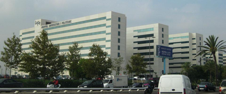 Hospital La Fe de Valencia. Foto: Javier Furió