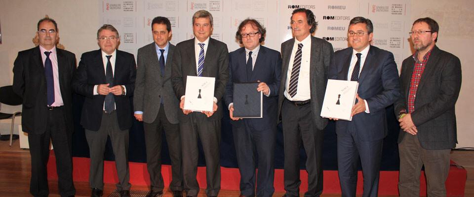 Presentación del Nuevo Estudio de Bibliografía Española sobre el Ajedrez en el Centre del Carme. Foto: Javier Furió