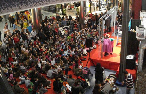 Teatro infantil en el Centro Comercial El Saler