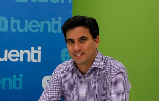 Sebastián Muriel, vicepresidente de Tuenti.
