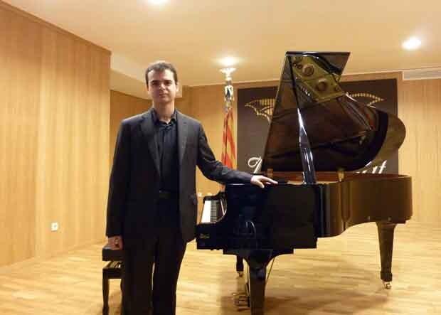 Els guanyadors del Concurs de Piano: JAVIER MANUEL OBRER
