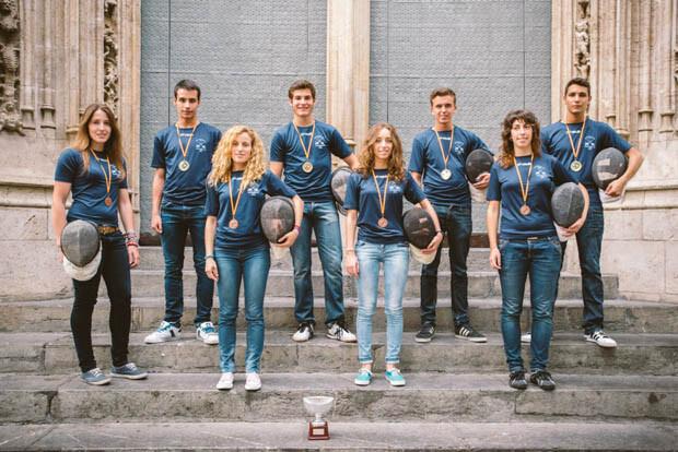 Equipos masculino y femenino de la SAV_01