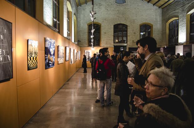 Público, mucho público en la inauguración.