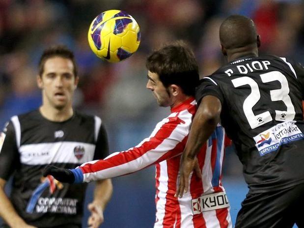 Levante UD. Atletico Madrid. Temporada 2012-2013