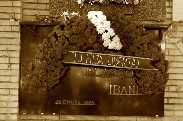Nicho de Blasco Ibáñez. Foto: A.P.R.S.