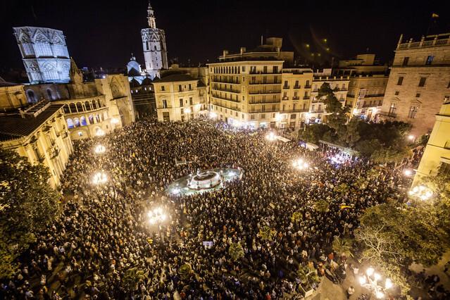 RTVV. Manifestacion