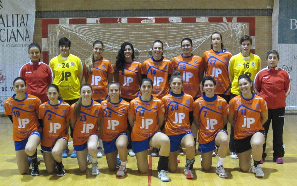 Foto oficial del CH Canyamelar Valencia 2013-2014. Foto: Jose Ángel Crespo.