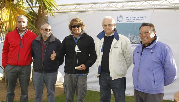 Rodrigo Quesada, vencedor en Láser Estándar