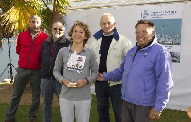 Carlos Balaguer campeón en Optimist A