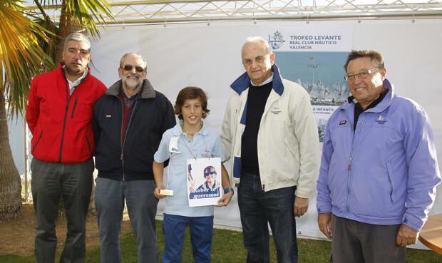Martín Noguera, campeón en Optimist B