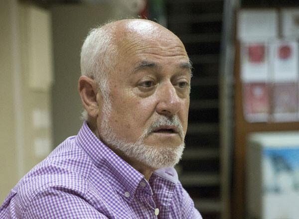 Francisco Carles, president de la Junta Major de la Semana Santa Marinera, en una foto de archivo. Foto: Manuel Molines
