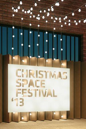 Proyecto de Diseño para el Montaje del Christmas Space Festival '13 de Las Naves