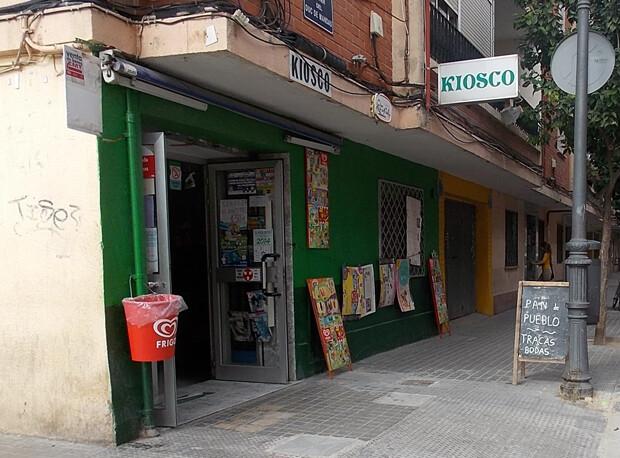 Kiosco. Calle del Duque de Mandas, 2013
