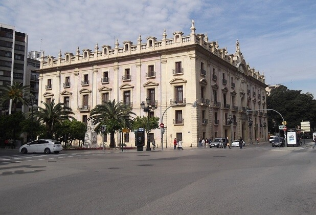 TSJCV. Edificio