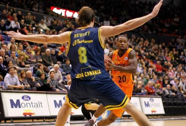 Valencia Basket. Gran Canaria