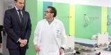 El Conseller de Sanidad, Manuel Llombart, en su visita al Hospital General de Valencia