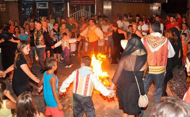 Fiestas de Sant Roc i el Gos, en Paiporta