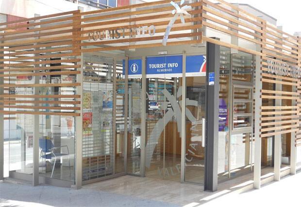 La oficina de la Red Tourist Info de Almoradí.