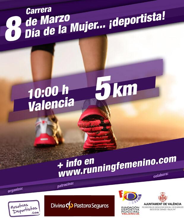 Cartel Carrera Dia de la Mujer