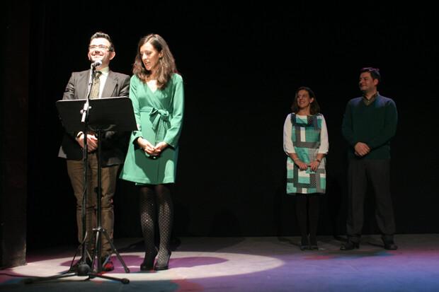 Un momento de la Gala de Entrega de los I Premios Bernarda 2013