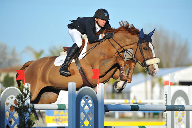 at CSI2* Mediterranean Equestrian Tour I at Oliva Nova Equestrian Center, Oliva - SPAIN