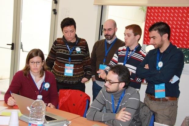 Grupo de trabajo Sportyguest en Centro APUNT 2013