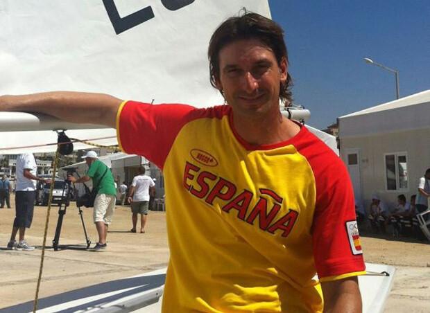 Jesús Rogel en los Juegos Mediterráneos de Clase Olímpica de Turquía