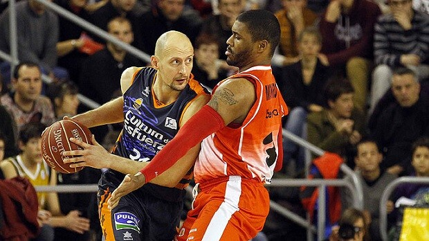 Valencia Basket. Bruixa d'Or Manresa. Liga ACB