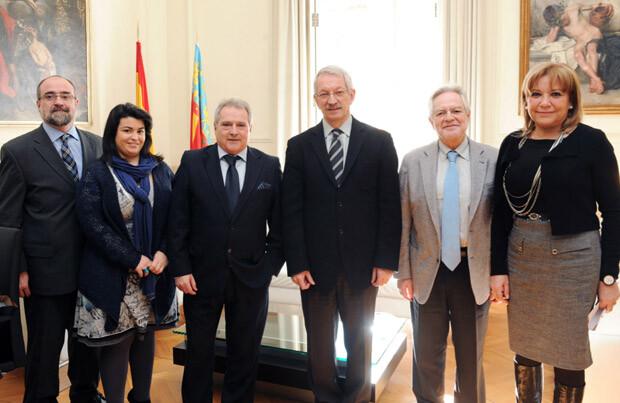 Visita rector UNED