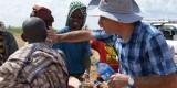 Acción de ADRA, una organización no gubernamental para el desarrollo, en África.