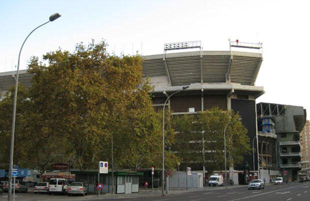 El vetusto estadio de Mestalla. Foto: Javier Furió
