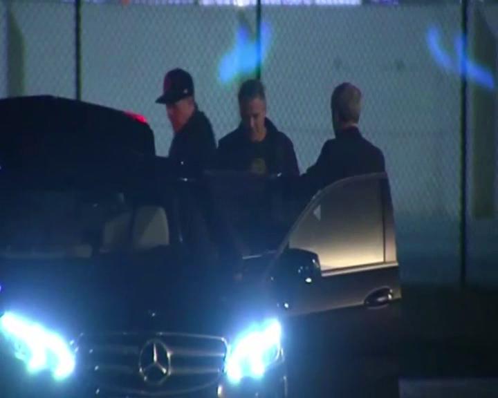 George Clooney aterriza en Valencia